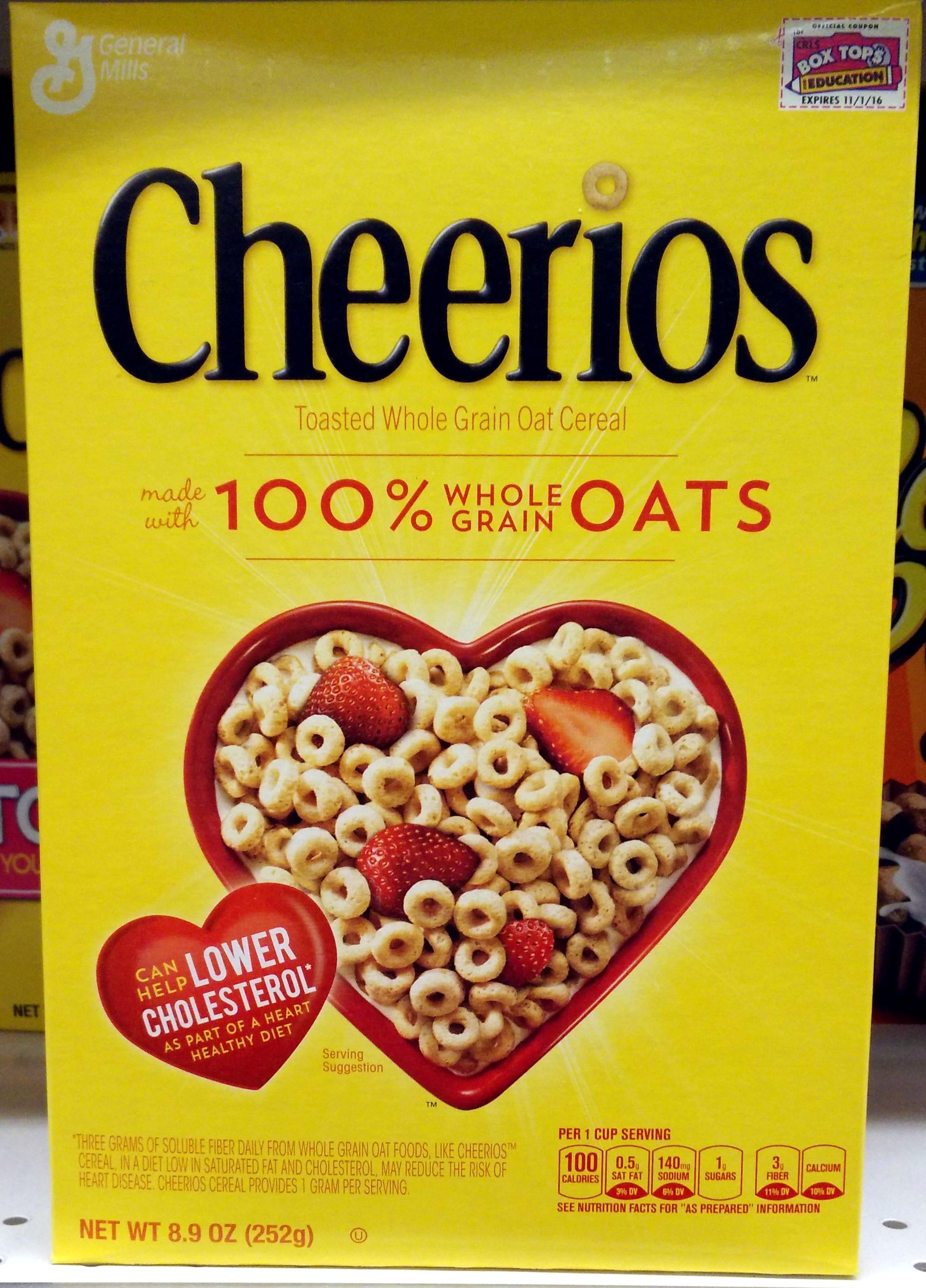 Cheerios 8 9 Oz 252 G