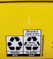 Cheerios - Recycling instructions and/or packaging information - en