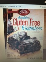choclate gluten free brownie mix - Product