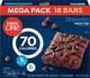 Brownies calorie bar chocolate fudge brownie fiber bars mega - Product