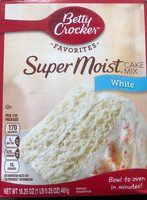 Super Moist Cake Mix White - Produit