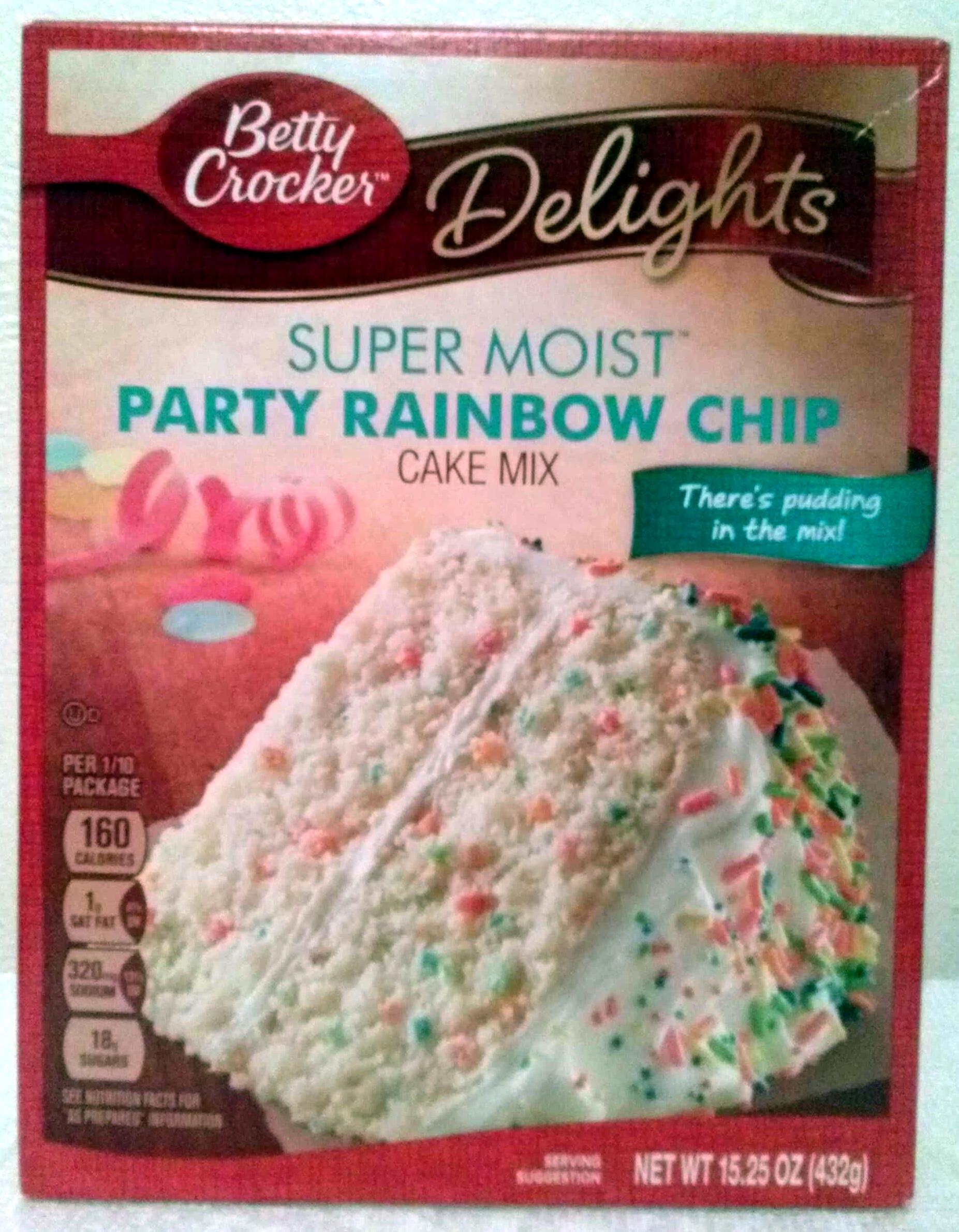 Party Rainbow Chip cake mix - Produit
