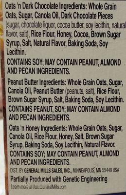 Nature Valley Crunchy Granola Bars Variety Pack - 6 CT - Ingrediënten - fr