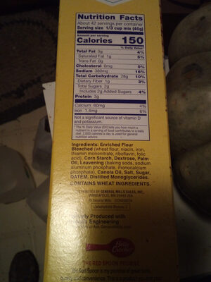 Bisquick Pancake Mix - Ingredients