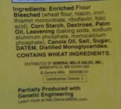 original Bisquick pancake & baking mix - Ingredients