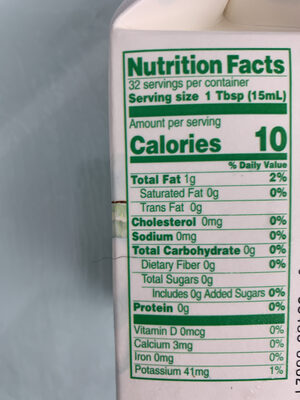 Crunchy granola bars oats'n honey - Nutrition facts