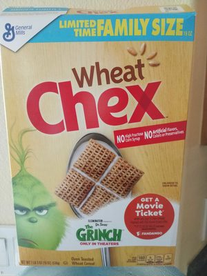 Chex Cereal - Wheat - Product