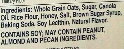Oats 'n Honey - Ingredients - en