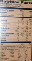 Oats 'n Honey - Nutrition facts - en