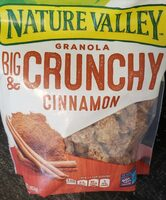 Granola Big Crunchy & Cinnamon - Product - en