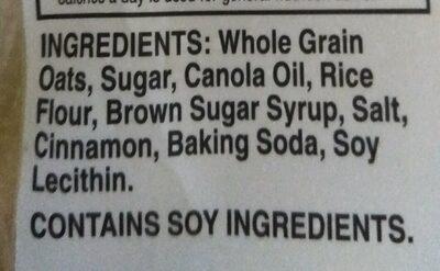 Granola Big Crunchy & Cinnamon - Ingredients - en