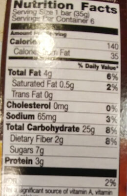 - Nutrition facts - th