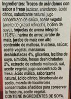 Fruteria con fresa manzana - Ingredients