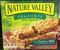 Barras de granola con avena y miel - Product - es