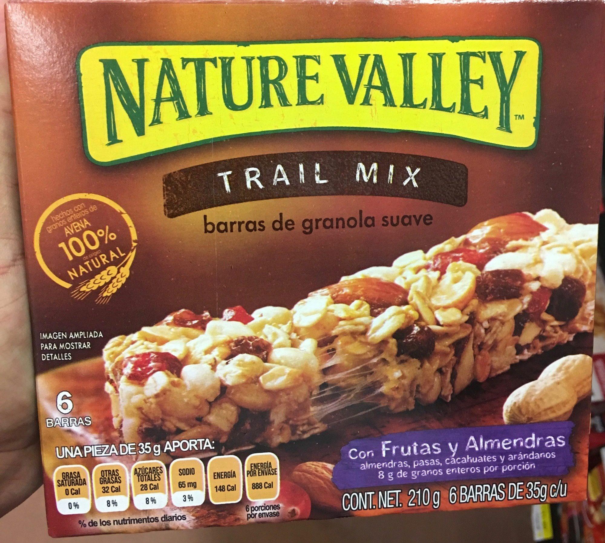 Trail Mix barras de granola suave - Product - es