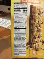 Nature Valley Protein Chewy Bars - Informations nutritionnelles - en