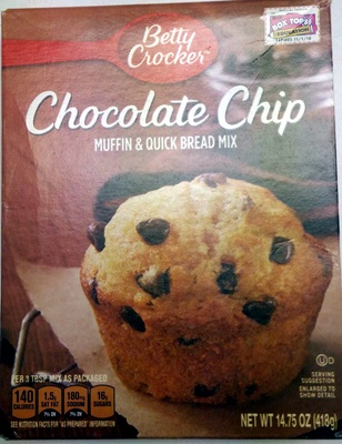 Chocolate Chip Muffin & Quick Bread Mix - Product