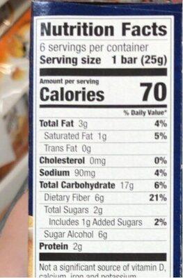 Brownies - Información nutricional - es