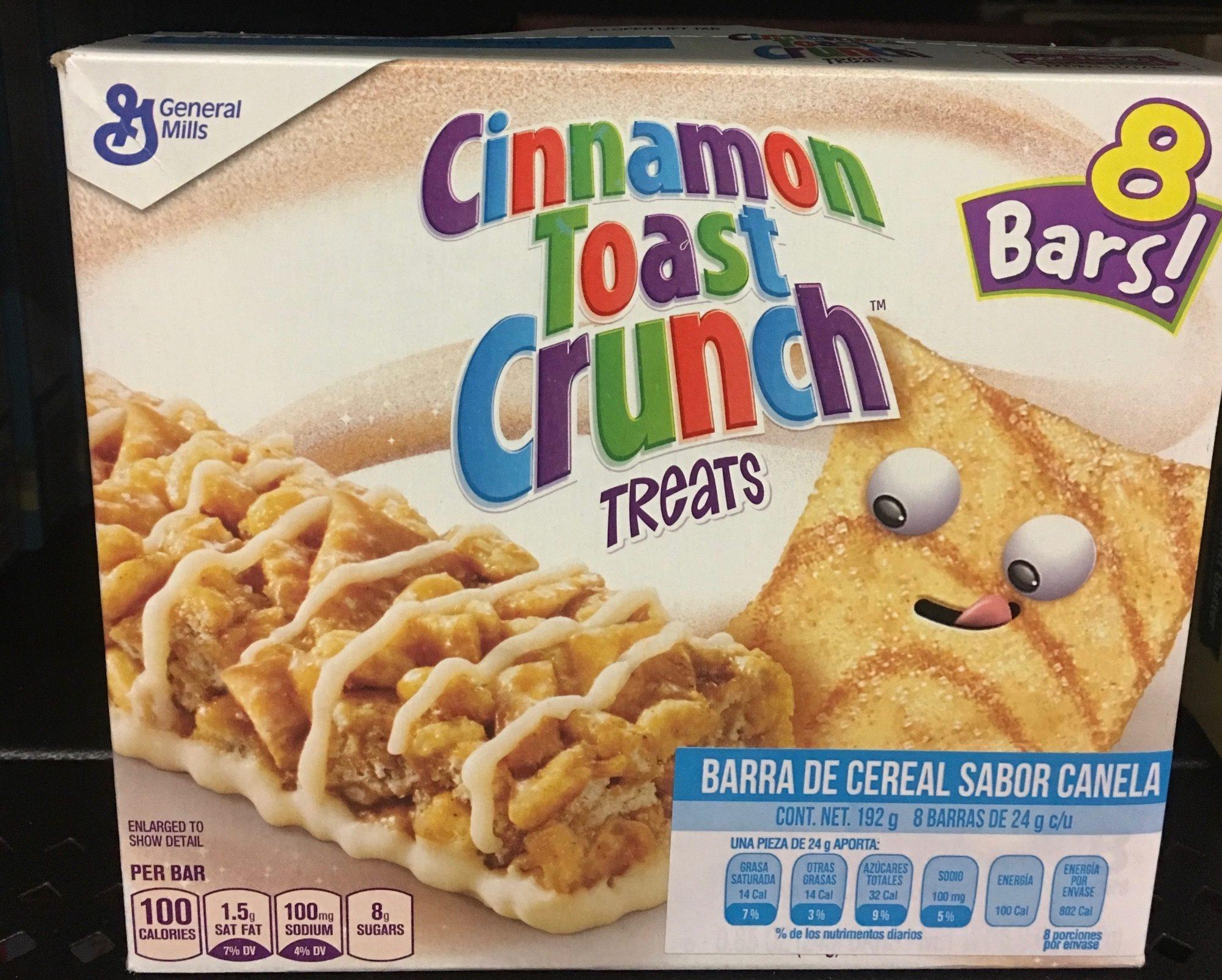 Cinnamon Toast Crunch Treats - Product