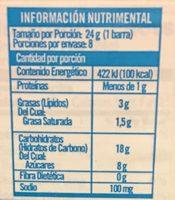 Cinnamon Toast Crunch Treats - Nutrition facts