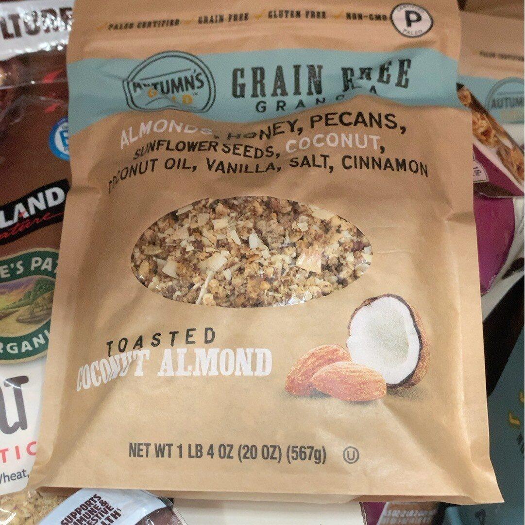 Atmns Gold Grn Free Gran Tstd Coconut Almond - Product - en