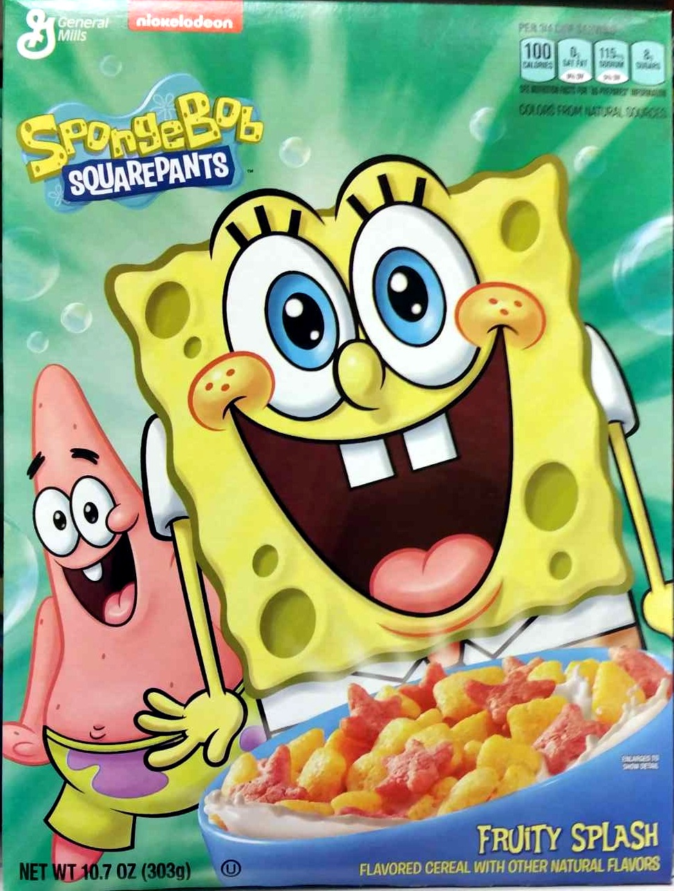 Spongebob Squarepants Fruity Splash - Product - en
