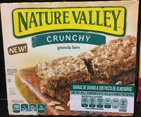 Crunchy almond butter granola bars - Product - es