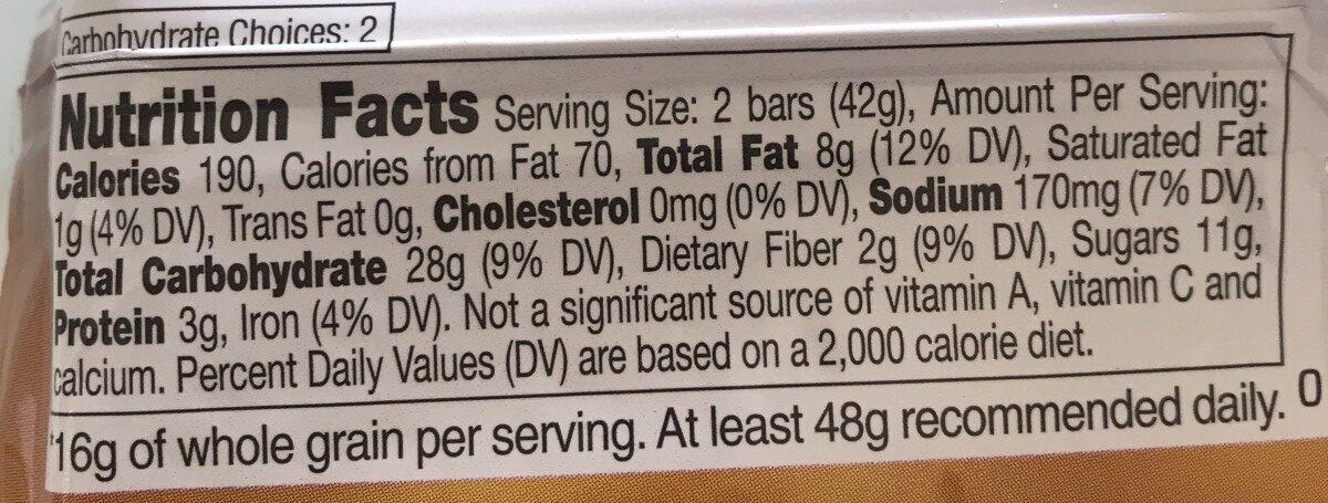Pecan Crunch - Ingredients