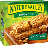 Crunchy Oats & Honey Cereal Bars - Product - en