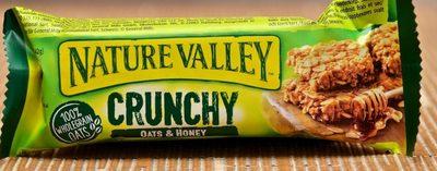 Crunchy Oats & Honey Cereal Bar - Produit - fr