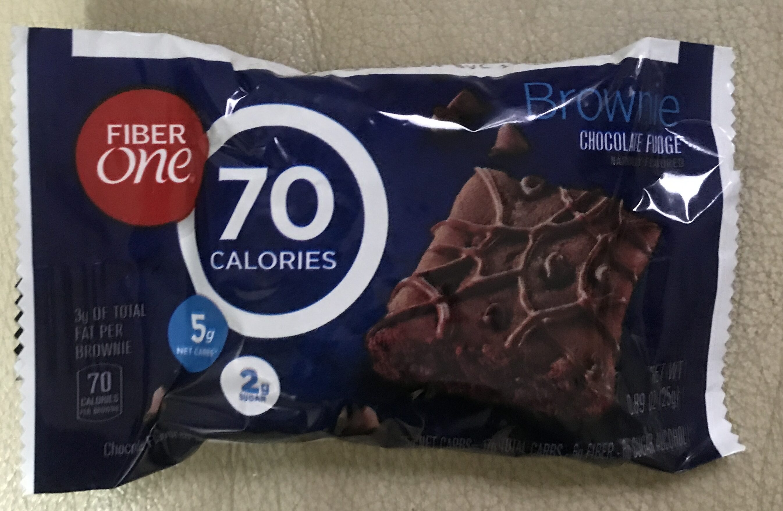 Fiber One 70 Calorie Chocolate Fudge Brownie - Producto - en