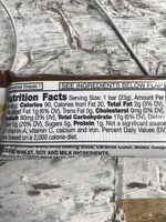Fiber one - Nutrition facts