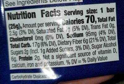 Calorie lemon bar baked bars - Nutrition facts - en
