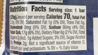 Fiber One 90 Calorie Birthday Cake Baked Bar - Valori nutrizionali - en