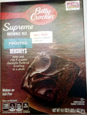 Supreme Frosted Brownie Mix - Product