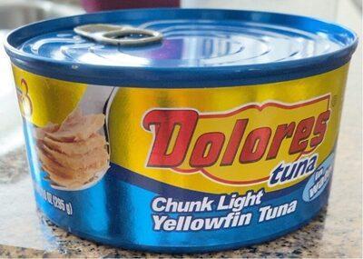 Chunk light Yellofin tuna - Produit