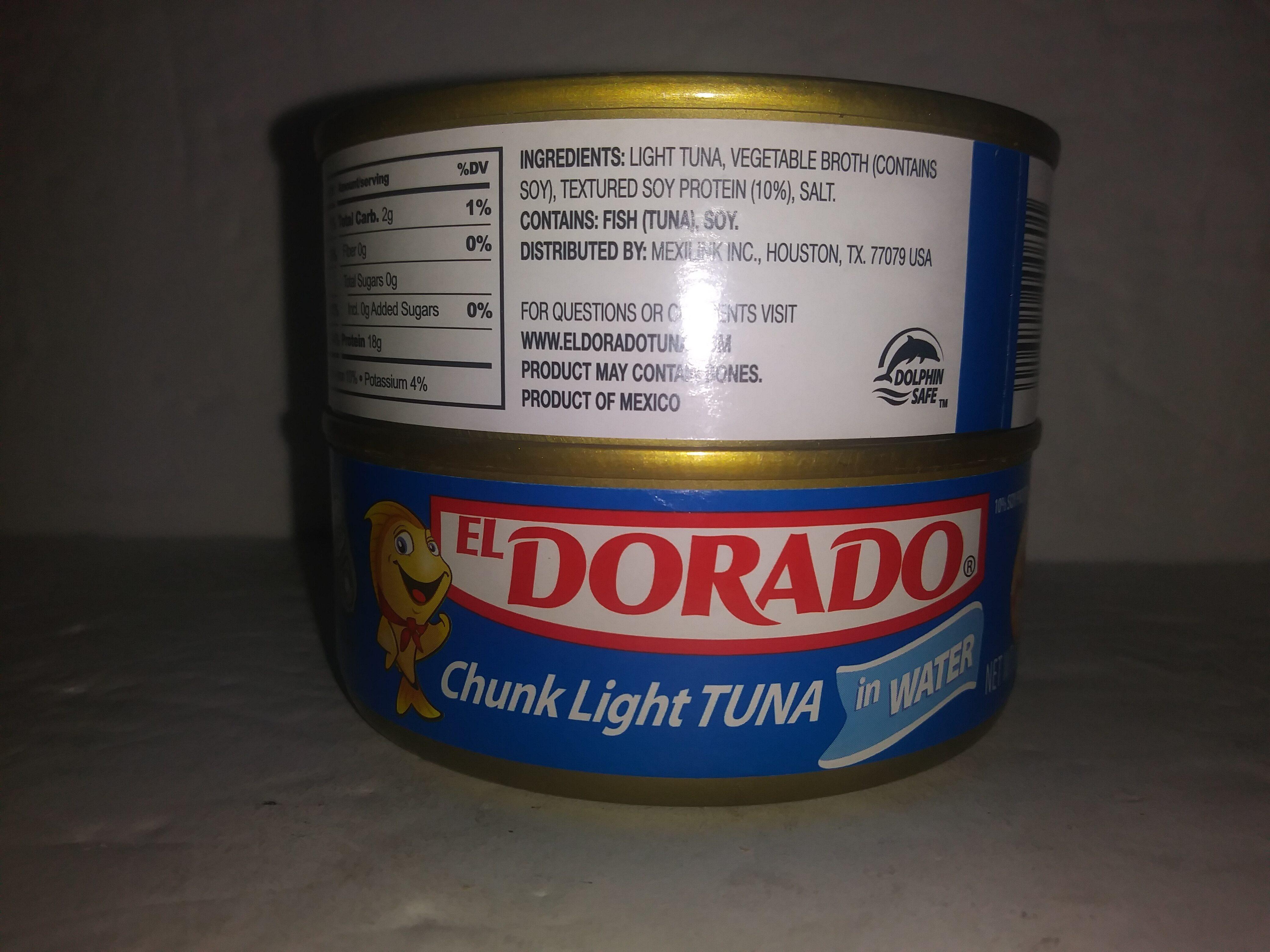 Chunk light tuna - Ingredienti - en