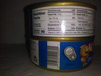 Chunk Light Tuna Fish in Water - Valori nutrizionali - en