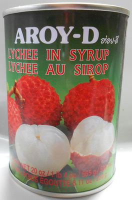 Lychee au sirop - Product - fr