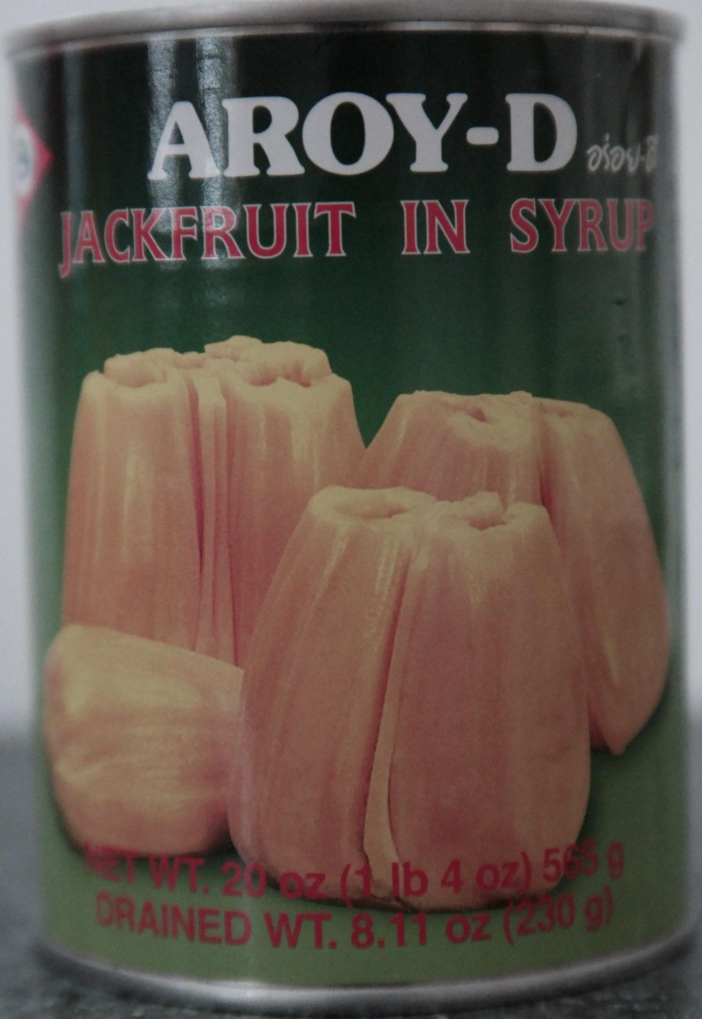 Aroy-d, jackfruit in syrup - Product - en