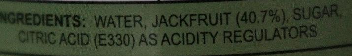 Aroy-d, jackfruit in syrup - Ingredients - en