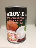 Aroy-D, Coconut Milk - Ingredients
