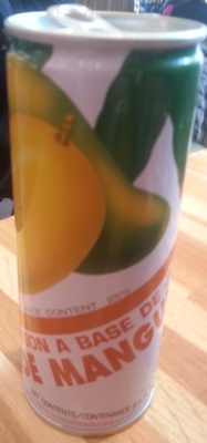 Boisson à base de jus de mangue - Product