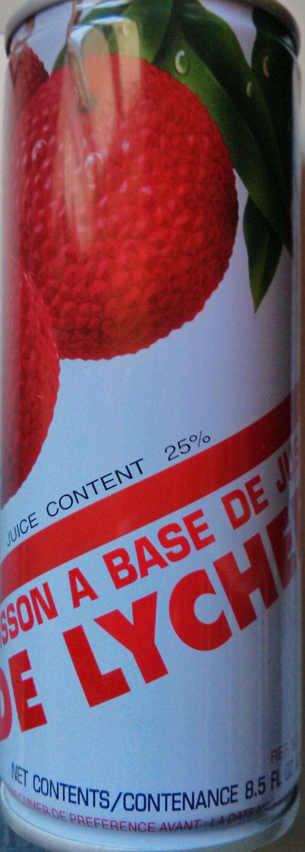Boisson à base de lychee - Produit