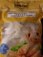 Frozen vegetable samosas - Product