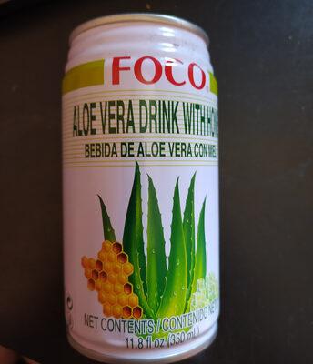 Aloe vera drink with honey - Product - fr