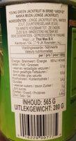 Young Green Jackfruit In Brine - Nutrition facts - en