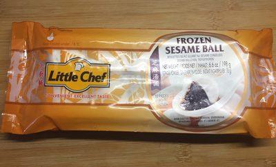 Boulettes de riz gluant au sésame congelées - Product - fr