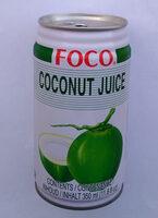 Foco, coconut juice - Produit - fr