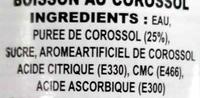 Soursop Juice - Ingredients
